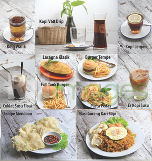 Aneka menu Melting Pot Eatery & Coffee
