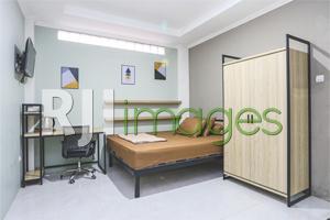 Aplikasi furnitur pada kamar tidur hadirkan sentuhan industrial