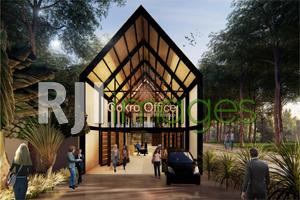 Inspirasi Pra Desain, Cokro Office Bangunjiwo#1