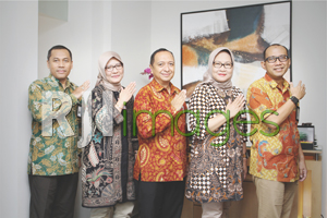 Jajaran Pimpinan BNI Kantor Cabang UGM Jogjakarta