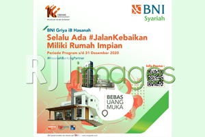 Jalan Kebaikan, Miliki Rumah Impian dengan BNI Griya iB Hasanah