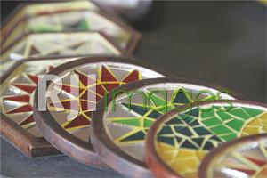 Mozaik Tatakan Gelas