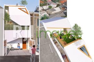 Net House, Strategi Membangun Rumah di Lahan Sempit bagi Keluarga Milenial
