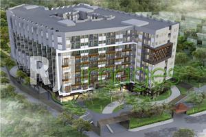 Perspektif bird eye, kawasan Apartemen Dhika Universe Yogyakarta Sardjito