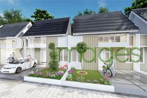 Perspektif kawasan hunian tipe 36, Happy Homes Hills berlokasi di Selorejo Pundo