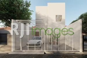 Renovasi Rumah Tinggal Konsep 1 Lantai Menjadi 2 Lantai#1