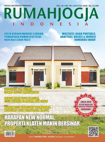 RumahJogja Indonesia edisi Agustus 2020