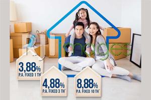 Wujudkan Rumah Idaman Bunga Spesial 3,88 % dari Mandiri KPR