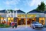 Perspektif rumah tipe 45 Graha Mulya Ketandan Klaten