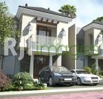 Perspektif rumah tipe Leon tipe 100 Casa Grande Real Estate
