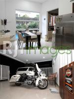 Ruang Makan dan Garasi